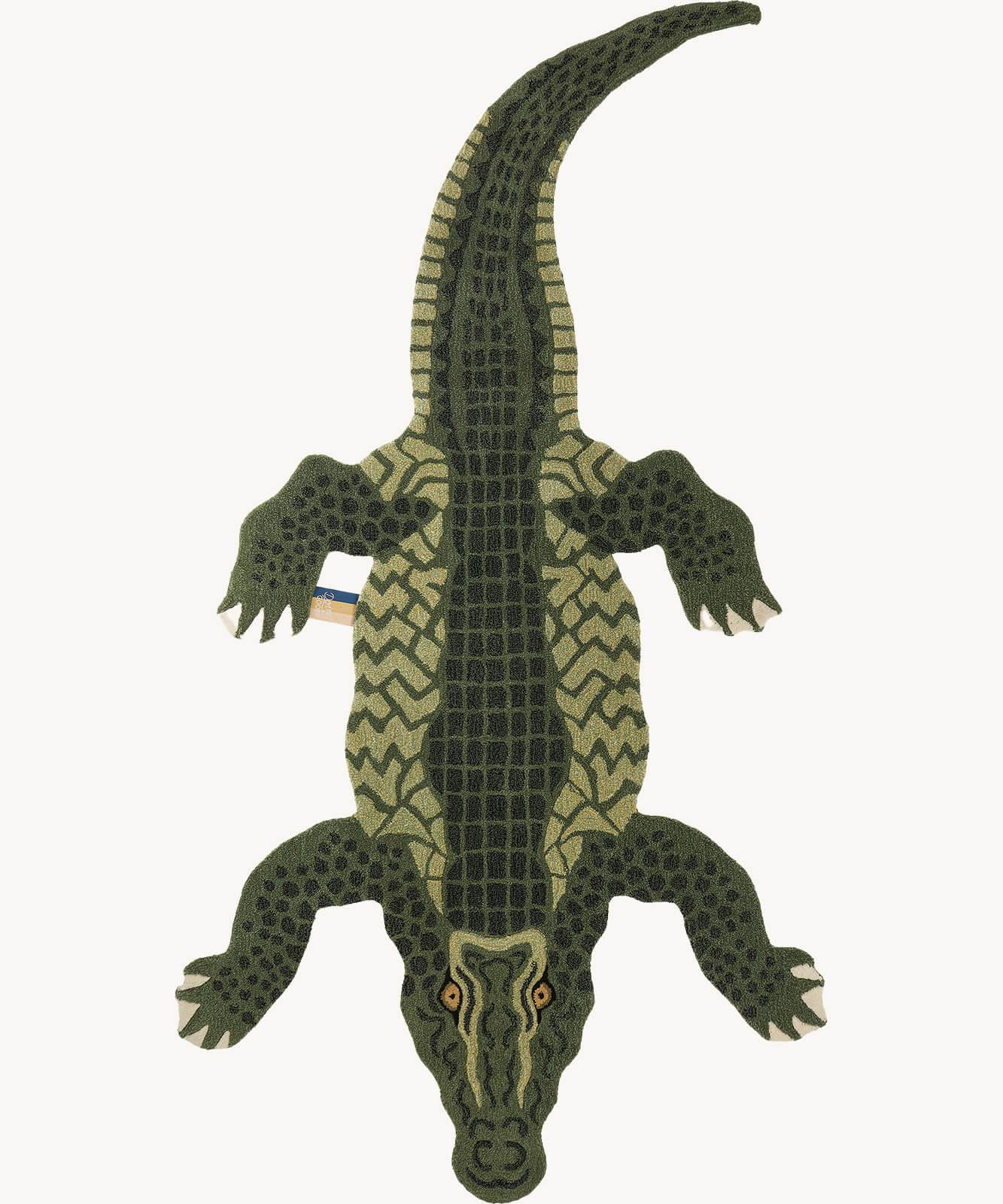 Coolio Crocodile Rug Xl Doing Goods